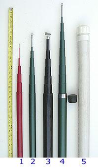 The Mast Company - Telescopie Poles